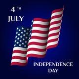 Unabhängigkeit Day Stockfotografie