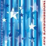 Unabhängigkeit day_stars Lizenzfreie Stockfotografie