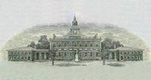 Unabhängigkeit Hall lizenzfreie stockbilder