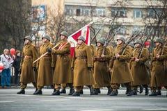 Unabhängigkeit von Polen Stockfoto