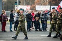 Unabhängigkeit von Polen Lizenzfreie Stockbilder