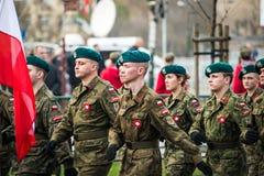 Unabhängigkeit von Polen Lizenzfreies Stockbild