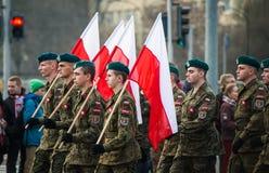 Unabhängigkeit von Polen Stockfotos