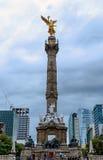 Unabhängigkeitdenkmal, Mexiko Stockfotografie
