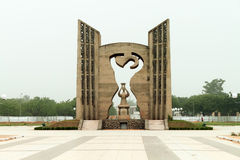 Unabhängigkeits-Monument, Togo stockfotografie