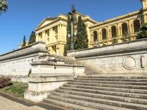 Unabhängigkeits-Park und Museu Paulista der Universität von Sao Paulo lizenzfreies stockfoto