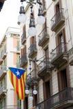 Unabhängigkeitsflagge Stockfotografie