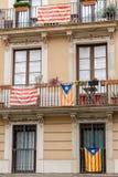 Unabhängigkeitsflaggen Lizenzfreies Stockbild