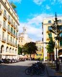 Unabhängigkeitsquadrat, Girona Lizenzfreie Stockfotografie