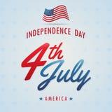 Unabhängigkeitstag-Amerikaner Stockfotos