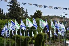 Unabhängigkeitstag des israelischen Staats lizenzfreie abbildung
