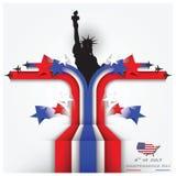 Unabhängigkeitstag feiern Hintergrund Stockbilder