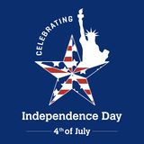 Unabhängigkeitstag - 4. Juli Stockfotos