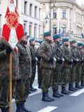 Unabhängigkeitstag, Lublin, Polen Stockfotografie