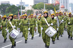 57. Unabhängigkeitstag-Parade Malaysias Stockbild