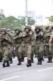 57. Unabhängigkeitstag-Parade Malaysias Lizenzfreie Stockfotos
