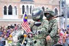 57. Unabhängigkeitstag-Parade Malaysias Lizenzfreies Stockbild