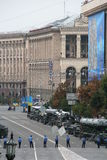 Unabhängigkeitstag in Ukraine Stockfotografie