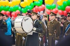 Unabhängigkeitstag in Vilnius Lizenzfreies Stockfoto