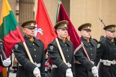 Unabhängigkeitstag in Vilnius Lizenzfreie Stockfotos