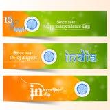 Unabhängigkeitstag von Indien Stockfoto