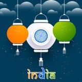 Unabhängigkeitstag von Indien Lizenzfreie Stockfotos