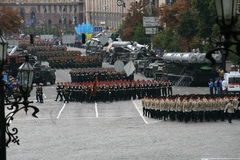 Unabhängigkeitstag von Ukraine Lizenzfreies Stockfoto