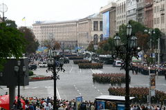 Unabhängigkeitstag von Ukraine Lizenzfreie Stockfotos