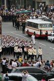 Unabhängigkeitstag von Ukraine Stockbild