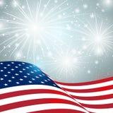 Unabhängigkeitstagkarte Lizenzfreies Stockfoto