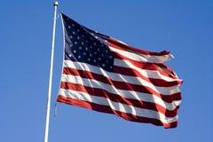 Unabhängigkeitstagmarkierungsfahne Lizenzfreies Stockbild