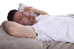 Unable To Sleep Royalty Free Stock Photo