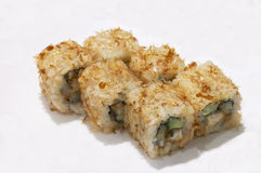 Unadzû appetite maki rolls royalty free stock photo