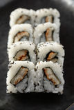 Unaghi maki Rolls Royalty Free Stock Photo