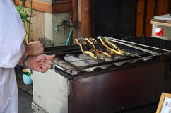 Unagi (eel) or kabayaki or Grilled eel Stock Photo