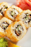 Unagi Fry Roll Stock Photos