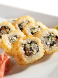 Unagi Fry Roll Stock Photo