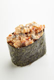 Unagi Gunkan Sushi Stock Photo