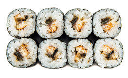 Unagi maki Royalty Free Stock Photos