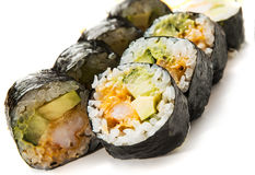 Unagi maki Royalty Free Stock Photography