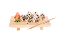 Unagi Maki Sushi Stock Photography