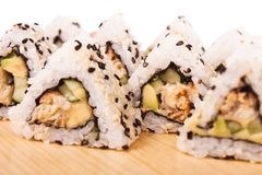 Unagi Maki Sushi Stock Photos