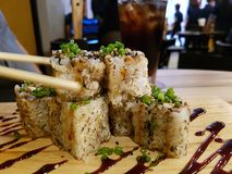 Unagi Maki Royalty Free Stock Image