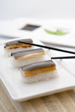 Unagi Nigiri Sushi Royalty Free Stock Photos