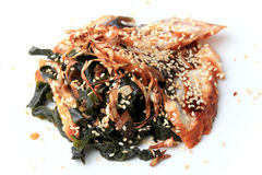 Unagi no wakame sarada Royalty Free Stock Photos