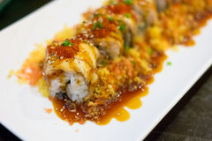 Unagi Roll, Japanese foods Stock Photo