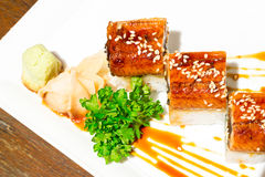 Unagi roll Stock Images