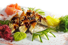 Unagi Sashimi Royalty Free Stock Images