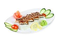 Unagi sashimi Royalty Free Stock Image