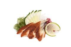 Unagi sashimi royaltyfria bilder